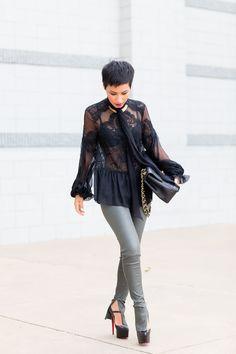 Leather & Lace | Nini's Style