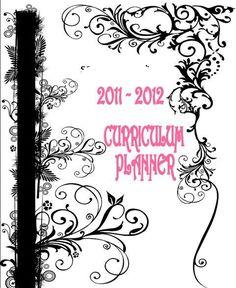 Organizational Printables - NEW BEGINNINGS; other home-schooling fun-stuffs!
