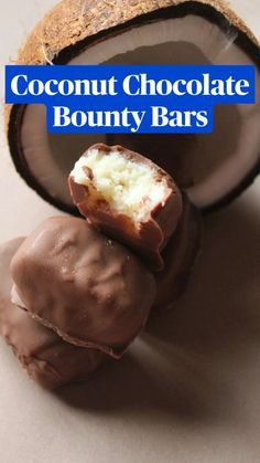 Chocolate Dishes, Chocolate Cookie Recipes, Coconut Chocolate, Easy Baking Recipes, Snack Recipes, Cooking Recipes, Snacks, Coconut Dessert, Tastemade Recipes