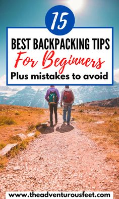 Going for your first backpacking trip? Here are the best tips for backpacking for beginners that you should know. Backpacking For Beginners, Backpacking Tips, Hiking Tips, Packing Tips For Travel, Travel Advice, Travel Essentials, Travel Guides, Travelling Tips, Travel Articles