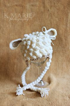 definitely crochet; but I think a ton of knitted baubles would do it!  too cute!