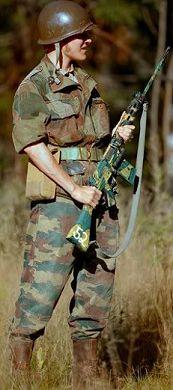 Belgian Paratrooper