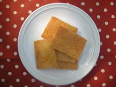 Gluten free Cheddar Crackers - Tried these... and they are awesome! They taste like Cheeze-It's !