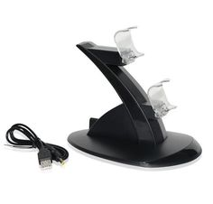 Cheap charger for, Buy Quality charger charger directly from China charger holder Suppliers: Black FOR Dual USB Charging Dock Stand Support Holder Charger for Playstation 4 Game Wireless Controller Gaming Accessories, Cell Phone Accessories, Playstation, Thing 1, Ps4 Controller, Docking Station, Usb, Ebay, Charger