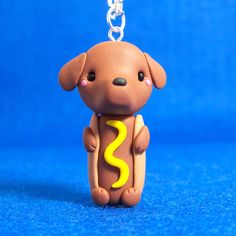 Hot Dog Dachshund Chibi Necklace | Flickr - Photo Sharing!