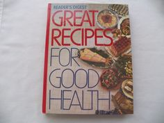 $3.00 Readers Digest Great Recipes for Good Health 1988 HC (61316-125) vintage cookboo