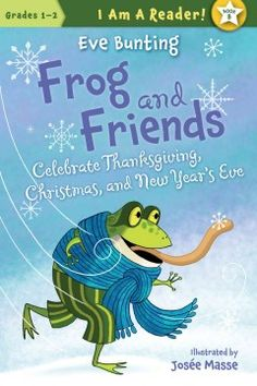 In this Frog and Friends early reader, Frog shares a Thanksgiving feast with his woodland friends, celebrates his first Christmas and rings in the New Year with a twist on tradition.