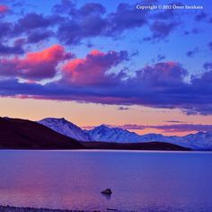 Sunrise at Lake Tekapo, south island New Zealand