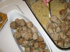 Any food in ball form gets thumbs up - like Swedish Meatballs. mad-men-party-ideas food