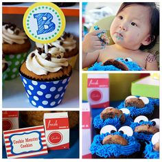 Cookie Monster party ideas!