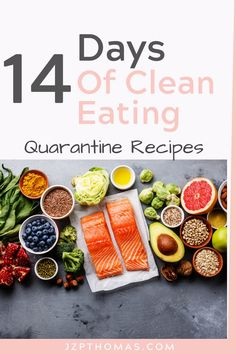 Not sure what to cook while stuck at home? 14 days of clean eating recipes that actually taste good and are good for you. Healthy Meals To Cook, Clean Eating Recipes, Whole Food Recipes, Vegan Recipes, Ayurvedic Recipes, Eating Fast, Diet Plans To Lose Weight Fast, Quick Healthy Breakfast, Best Diets