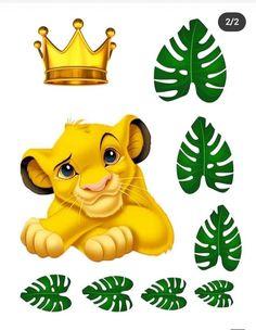 Lion King Theme, Lion King Party, Lion King Birthday, Happy Birthday B, Wild One Birthday Party, Le Roi Lion Disney, Disney Lion King, Simba E Nala, Lion King Cupcakes