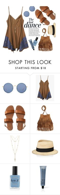 """Her Way"" by genuine-people ❤ liked on Polyvore featuring Linda Farrow, Anja, Aéropostale, H&M, House of Harlow 1960, Eugenia Kim, Lauren B. Beauty and La Compagnie de Provence"