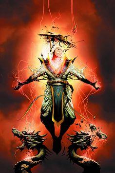 Mortal Kombat X (2015) Issue #10