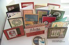 Carla Creates: CTMH Christmas Card Extravaganza!
