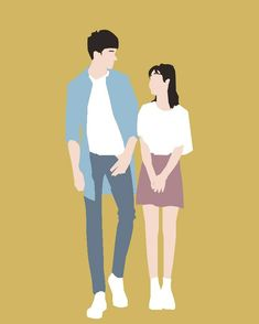 This is my first vector. I know that was so bad Dark Wallpaper Iphone, Cute Wallpaper Backgrounds, Cute Wallpapers, Cute Couple Art, Anime Love Couple, Love Illustration, Character Illustration, Girl Cartoon, Cartoon Art