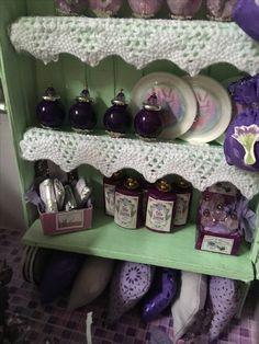 My third miniature ------------------------ LAVENDER SHOP   by   Jola Bessie