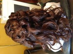 Communion hair.. Back