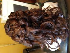 Communion hair.. Back
