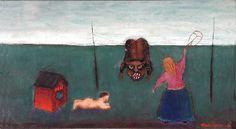 Nikolai Lehto: Bearskin Tanner, 1967 Finland, Surrealism, Painting, Art, Art Background, Painting Art, Kunst, Gcse Art, Paintings