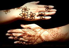 Polynesian henna des