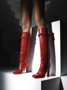 Valentino Red Boots