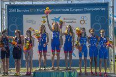 Victoire des Françaises à l'Euro Youth de Triathlon 2015: elles repartent avec la médaille de bronze !