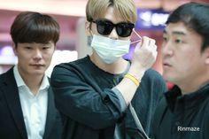 #170324 #Jaejoong at Incheon airport wearing mask