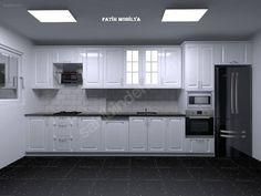 YERİNİZE ÖZEL UYGUN FİYATLI LAKE KAPAKLI MUTFAK DOLABI - Mutfak Dolabı İlanları sahibinden.com'da - 295607097