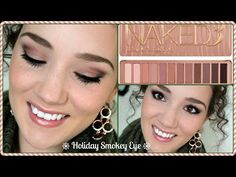 Holiday Smokey Eye - Naked3 Palette Tutorial