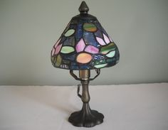 Stained Glass Lamp by TamiAndDani on Etsy
