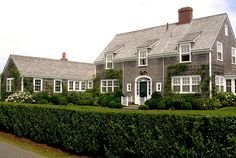 Nantucket--dormers do a great job of adding visual interest to the rooflines.