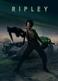 """Cool """"Car Legends - Ripley"""" Poster Printed on Metal. Created by artist: Eden Design. Available in sizes M- L - XL . Science Fiction, Alien Film, Eden Design, Movies And Series, Aliens Movie, Emblem, Car Posters, Movie Poster Art, Alien Vs Predator"""