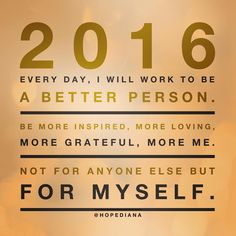 Happy New Year Quote! If I put it out there, I have to follow through!