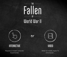 WW2 Visualisation movie - The Fallen of WW2. Proof that data viz can tell a story.