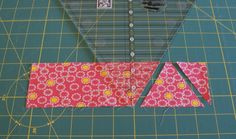 how to use quilting rulers | Flip the ruler 180-degrees so it's pointing the opposite direction of ...