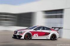 Mercedes-Benz CLA 45 AMG A Francoforte 2013 la Racing Series Concept
