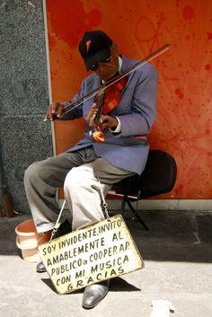 Puebla Musician in Mexico