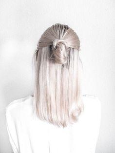 medium hair don't care