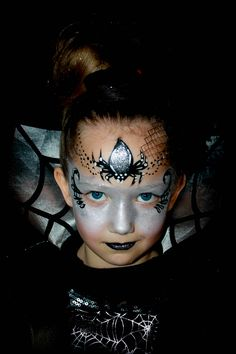 Mes maquillages pour enfants facepainting for children on pinterest one stroke papillons - Maquillage enfant sorciere ...