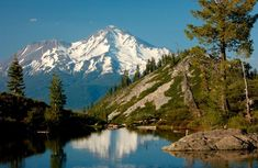 Shasta as seen from Heart Lake. Photo by Living Shasta Photography. San Gabriel Mountains, Mount Shasta, John Muir Trail, Us Destinations, Visit California, Mexico Travel, Lonely Planet, The Great Outdoors, Beautiful Places