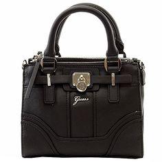 Guess Women's Greyson Mini Status Satchel Handbag