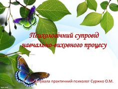 Психологічний супровід навчально-виховного процесу Підготувала практичний психолог Суржко О.М.