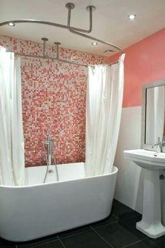 8 meilleures images du tableau barre rideau de douche - Tringle a rideau circulaire ...