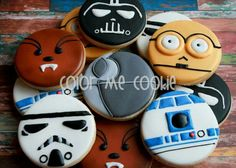 Star wars cookies! So cool.