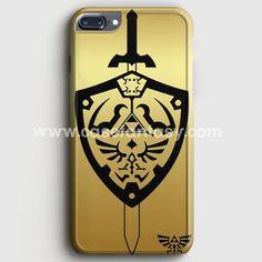 Zelda Master Sword Hylian Shield iPhone 7 Plus Case | casefantasy