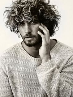 hair & sweater