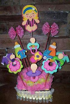 Baby Shower Unisex, Baby Boy Shower, Foam Crafts, Diy And Crafts, Creative Crafts, Baby Shawer, Baby Box, Baby Shower Themes, Baby Shower Decorations