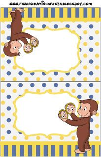 Curious george free party printables oh my fiesta in coloring pages curious george free printables Curious George Party, Curious George Birthday, 4th Birthday Parties, Baby Birthday, Birthday Ideas, Party Printables, Free Printables, Oh My Fiesta, Best Part Of Me