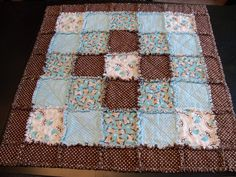 Next Rag Quilt pattern to try.....stay tuned!